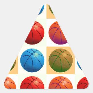 Pop Art Basketball Stickers