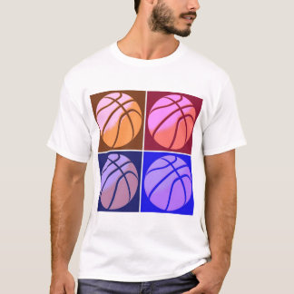 Pop Art Basketball T-Shirt