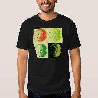 Pop Art Basketball Tee Shirts