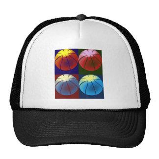 Pop Art Basketball Trucker Hat