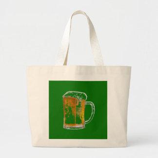 Pop Art Beer Mug Bags