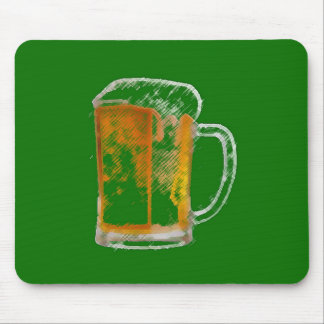 Pop Art Beer Mug Mouse Pad
