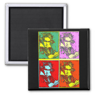 Pop-art Beethoven Magnet