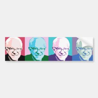 Pop Art Bernie Sanders - Bernie Sanders - .png Bumper Sticker