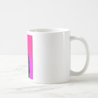 Pop Art Big Ben London Travel Pink Green Coffee Mug