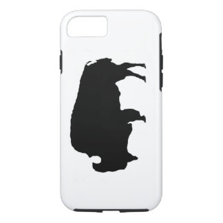 Pop Art Black White Buffalo Tough iPhone 7 Case