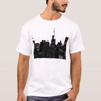 Pop Art Black & White New York T-Shirt