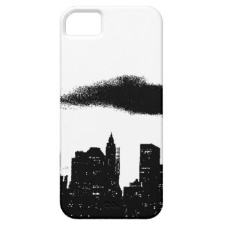 Pop Art Black White NYC New York City iPhone SE/5/5s Case