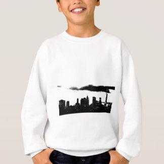 Pop Art Black White NYC New York City Sweatshirt