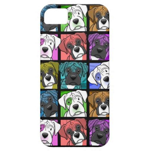 Pop Art Boxer iPhone 5 Case
