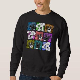 Pop Art Boxer Pullover Sweatshirts