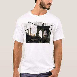 Pop Art Brooklyn Bridge T-Shirt