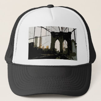 Pop Art Brooklyn Bridge Trucker Hat