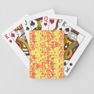 Pop art bubble wrap playing cards