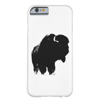 Pop Art Buffalo Bison Silhouette iPhone 6 Case