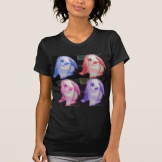 pop art bunnies t shirts