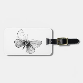 Pop Art Butterfly Tags For Luggage