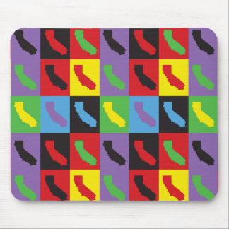 Pop Art California Mouse Pad