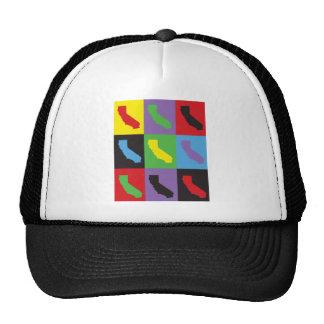 Pop Art California Trucker Hat