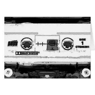 Pop Art Cassette Card