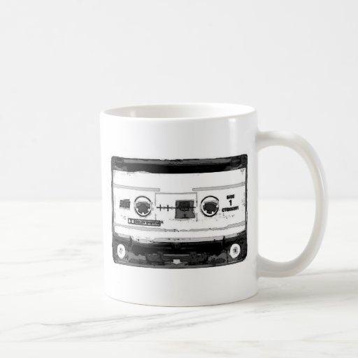 Pop Art Cassette Classic White Coffee Mug