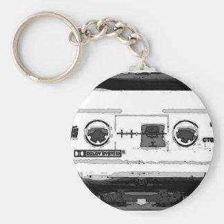 Pop Art Cassette Keychain