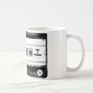 Pop Art Cassette Coffee Mugs