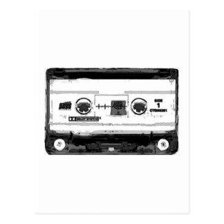 Pop Art Cassette Postcards