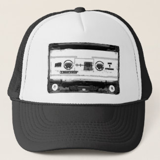 Pop Art Cassette Trucker Hat