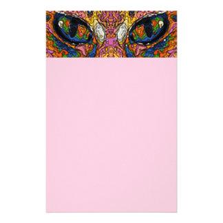 Pop Art Cat Eyes Stationery