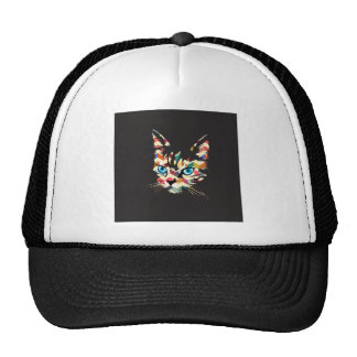 POP ART CAT HAT