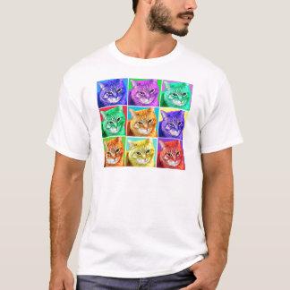 Pop Art Cat T-Shirt