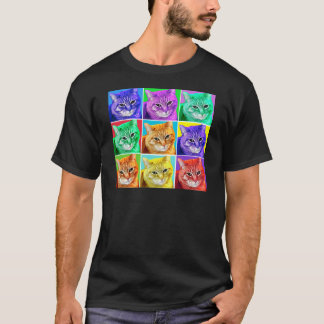Pop Art Cat T-Shirt