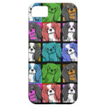 Pop Art Cavalier King Charles Spaniel iPhone 5 Cas iPhone 5 Case