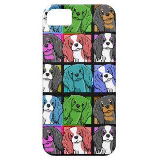 Pop Art Cavalier King Charles Spaniel iPhone 5 Cas iPhone SE/5/5s Case