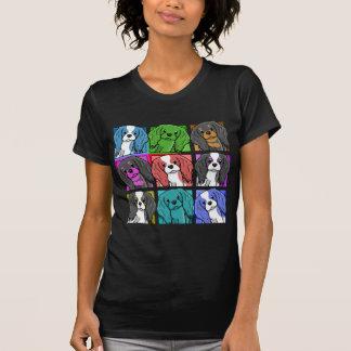 Pop Art Cavalier King Charles Spaniel T Shirt