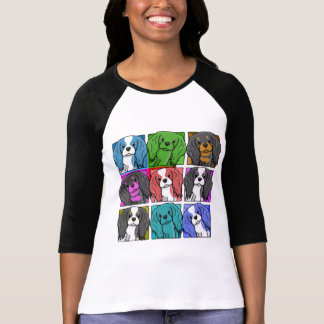 Pop Art Cavalier King Charles Spaniel T-Shirt