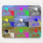 Pop Art Cepaea Snail Mouse Pad