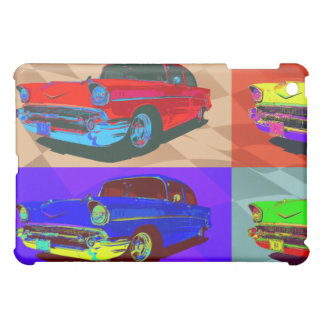 Pop art Chevy Belair illustration iPad Mini Cover