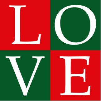 Pop Art Christmas LOVE Cutout