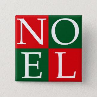 Pop Art Christmas NOEL Button