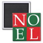 Pop Art Christmas NOEL Fridge Magnet