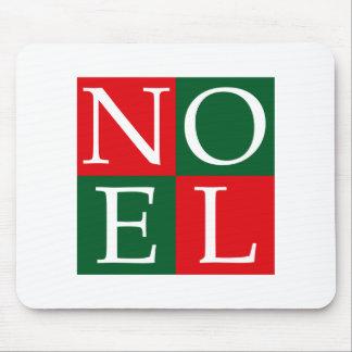 Pop Art Christmas NOEL Mouse Pad