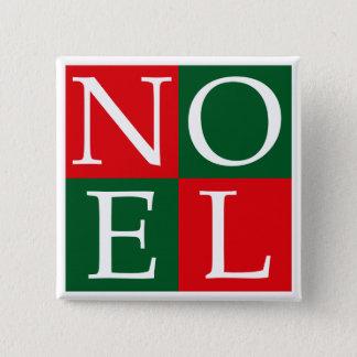 Pop Art Christmas NOEL Pinback Button