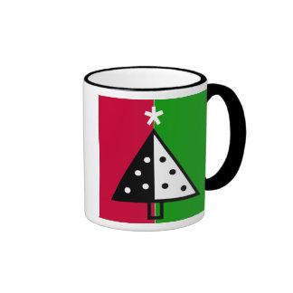 Pop Art Christmas Tree Mug
