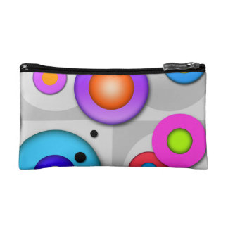 Pop Art CIRCLES 2 Accessory - Clutch Cosmetic BAG
