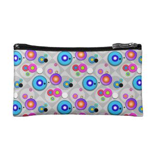 Pop Art CIRCLES Accessory - Clutch - Cosmetic BAG