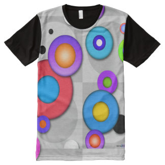POP ART CIRCLES All-Over-Print T-Shirt