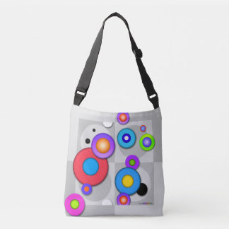POP ART CIRCLES CROSSBODY BAG