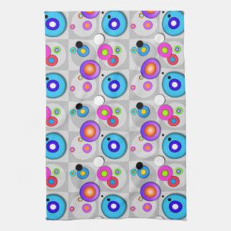 Pop Art CIRCLES KITCHEN - BAR - BATH TOWEL